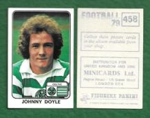 Glasgow Celtic Johnny Doyle 458